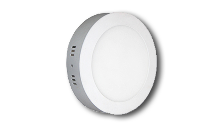 Garnet Slim 12W Round Panel Light